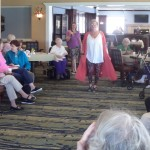 We even got our Business Director, Sandi Buerger to come out and work the runway herself!