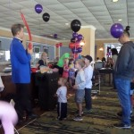Gary made each kid a balloon animal!