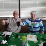 Gus and Erna enjoying the party.