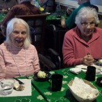 Betty and June enjoying their Ice Cream!