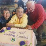 Happy 100th Birthday, Lucille!