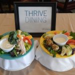Chef Salad Left Side: Your Traditional Chef Salad Right Side: Your Thriving Dining Chef Salad
