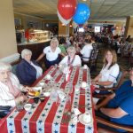 Residents enjoying time with their family during the 4th of July Party!