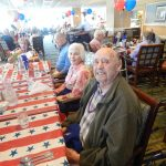 Residents enjoying the 4th of July festivities!