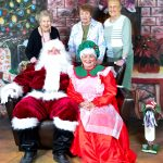 Residents, Edith Brant, Bev Meikel and Betty Stumpf.